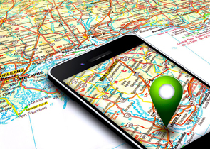 travel around usa with a gps tracker