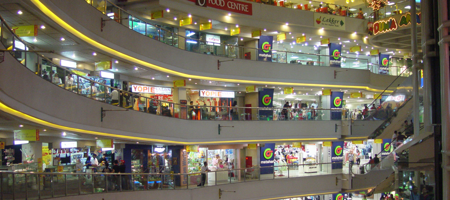 Outlet shopping malls